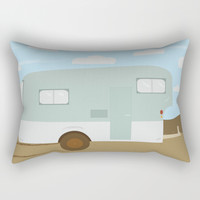 Forget and Not Slow Down Rectangular Pillow by laurendangeloart