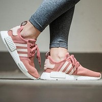 Adidas NMD R1 Raw Pink S76006 Boost Sport Running Shoes Classic Casual Shoes Sneakers