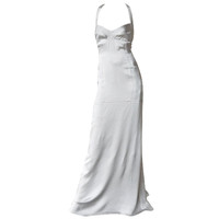 NARCISCO RODRIGUEZ 1930'S STYLE HARLOWESQUE GOWN
