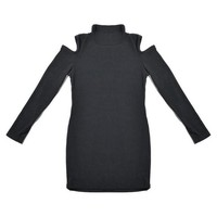 Mini Women Dress Knitted Long Sleeve Winter Dress Turtleneck Cut Out Casual Sweater Dress Sexy Club Robe Cotton Shirt Dresses