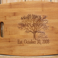 Personalized Cutting board, Christmas gift,  Anniversary gift, housewarming gift, wood cutting board, Christmas gift, avail in 3 sizes