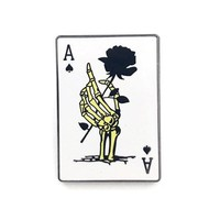 Ace Playing Card Pin