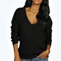 Imogen V Neck Jumper