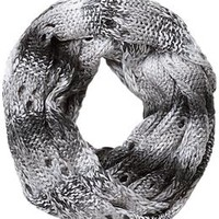 Ombre Stripe Infinity Scarf