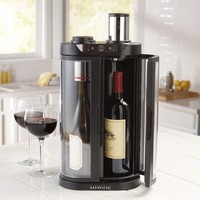 EuroCave SoWine Home Wine Bar & Preserver at Brookstone—Buy Now!