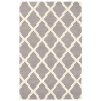 """5'0"""" X 8'0"""" Marrakech Rug in Cream and Gray - Beyond the Rack"""