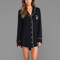 Wildfox Couture Dreamer Sleep Shirt in Black