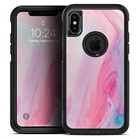 Marbleized Colored Paradise V3 - Skin Kit for the iPhone OtterBox Cases