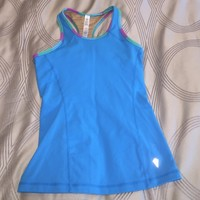 Blue Lululemon/Ivivva Tank Top