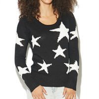 Star Pullover Sweater  | Shop Just Arrived at Wet Seal
