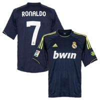 Ronaldo Jersey Real Madrid Away 2012 2013
