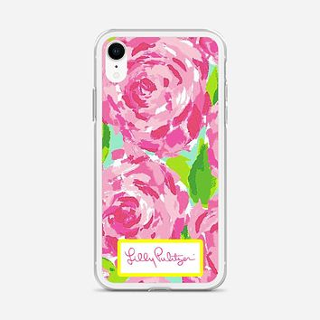 Lilly Pulitzer First Impression Rose Inspired iPhone XR Case