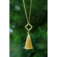 Dream On Necklace-Gold