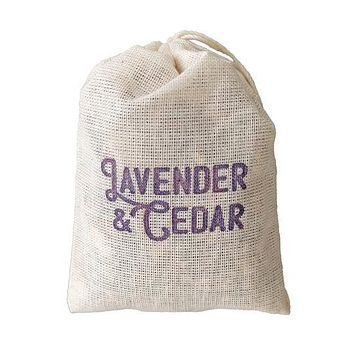 Lavender & Cedar Sachet - 3 Pack for Closet, Garment Bag or Drawer
