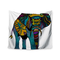 "Pom Graphic Design ""Elephant of Namibia"" Wall Tapestry"