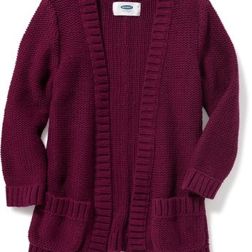 Open-Front Sweater for Toddler Girls | Old Navy