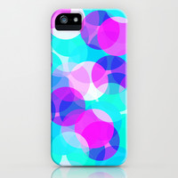 Bubbles #2 iPhone & iPod Case by Ornaart