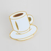 Rosehound Apparel Coffee Cup Pin - View all - NEW IN - Womens