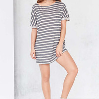 BDG Terry Stripe Tee Dress - Urban Outfitters
