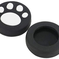 CHENBO 10 xSilicone Thumb Stick Grips Caps Cute Cat Paw for Nintend Switch NS Joy-Con Controller Joystick Accessories