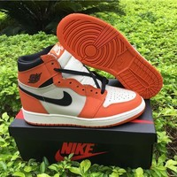 Air Jordan 1 Retro High OG Reverse Shattered Backboard Away AJ1 Sneakers