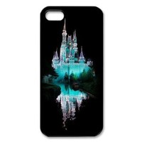 Disney Castle iPhone 5 Case Hard Back Cover Case for iPhone 5