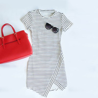 Sexy Striped Dress For Women