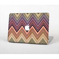 """The Vintage Colored V3 Chevron Pattern Skin Set for the Apple MacBook Pro 15"""""""