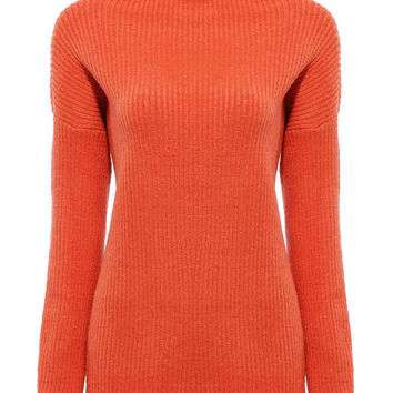 Orange Jumper with Roll Neck not available
