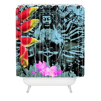 Deb Haugen Cool Shower Curtain