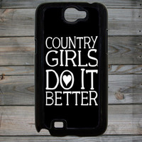 Country Girl ® Do it Better Note 2 Phone Case/Cover