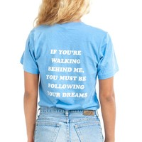 Follow Ur Dreams Back-Print Tee