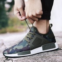 AGSan military camouflage men casual shoes 2017 summer krasovki army green trainers ultra boosts zapatillas deportivas hombre
