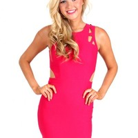 Out Last Night Fuchsia Bodycon Dress | Monday Dress Boutique