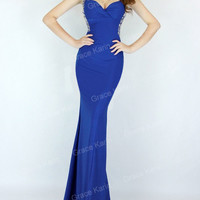 Mermaid Women Bodycon Evening Cocktail Party Formal Ball Gown Prom Long Dresses