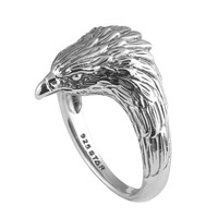 Watchful Eagle Ring