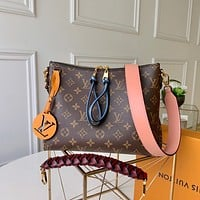 lv louis vuitton women leather shoulder bags satchel tote bag handbag shopping leather tote crossbody 240