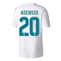 Real Madrid Home Asensio Jersey 2017 / 2018 (Official Printing)