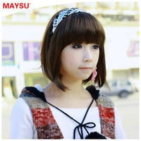 New Style Womens Sexy Short Fashion Straight Hair Wig from 18th-Dec am to 19th-Dec Will be cost only 8.21usd per piece