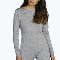 Olivia Knitted Open Back Lounge Playsuit