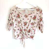 Gabrie Floral Top