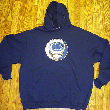 Steal Your Penn State  Grateful Dead Style Tie Dye  Shirt    Size XL   last one