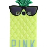 Yellow 3D lovely Fruit Ananas Style Soft Case Protective Cover For Samsung Galaxy S3 I9300