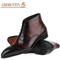 Luxury Mens Ankle Boots