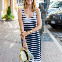 Maxi Stripe Tank Dress
