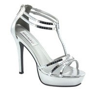 Prom Shoes   Silver prom dresses   Prom dresses   SIlver Prom shoes   Shimmer by Dyeables 29313   GownGarden.com