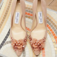 JIMMY CHOO - Romy 100 pumps