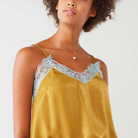 UO Lace Trim Cami | Urban Outfitters