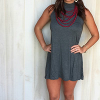 Best Basic Grey Dress