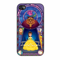 Rose Beauty And The Beast Disney iPhone 4s Case